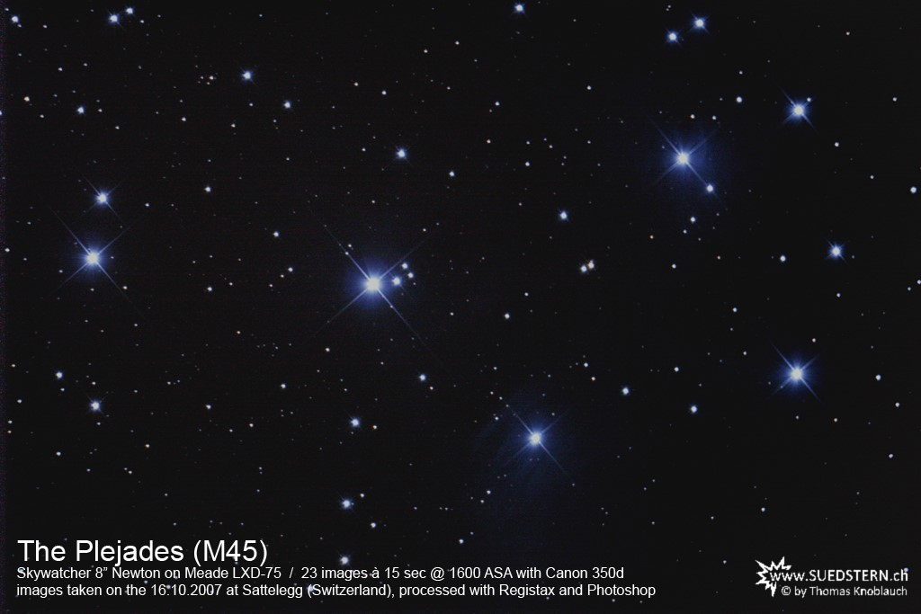 2007-10-16 - M45 (The Plejades)